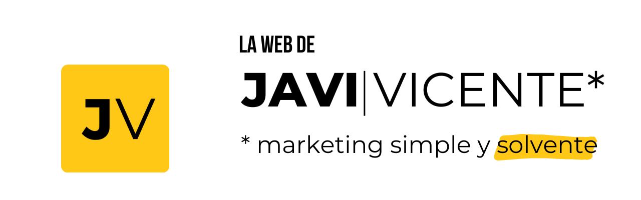 La web de Javi Vicente
